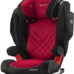 Recaro Monza Nova 2 Seatfix -Racing Red